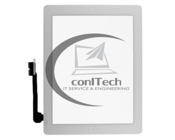 Touchscreen sticla digitizor APPLE Ipad 4 Alb