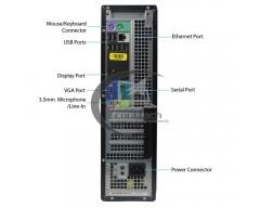 DELL 790 DT PENTIUM G860 3GHZ, 4GB DDR3 (2 X 2GB), 250GB, DVD-RW